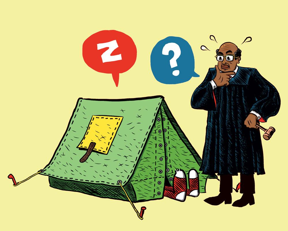 Camping Ban - Portland Mercury