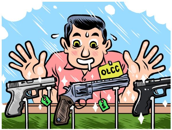 OLCC & Guns by François Vigneault