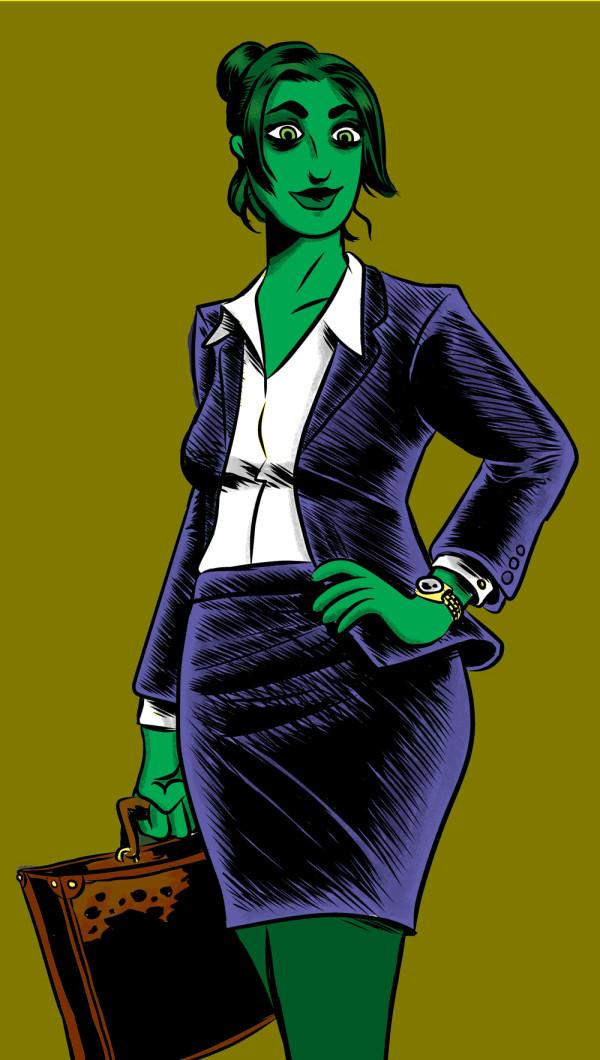 She-Hulk by François Vigneault