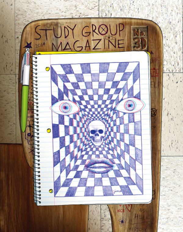 Study Group Magazine 3D Cover