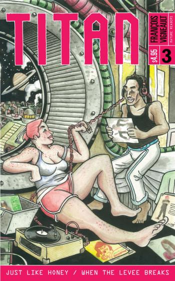 Titan #3 Cover by François Vigneault